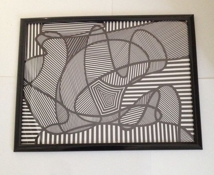 Swirls and straight lines - Kurtis gentile