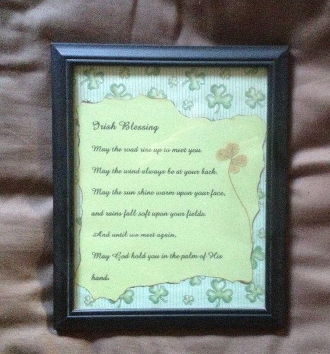 Irish blessing - Kurtis gentile