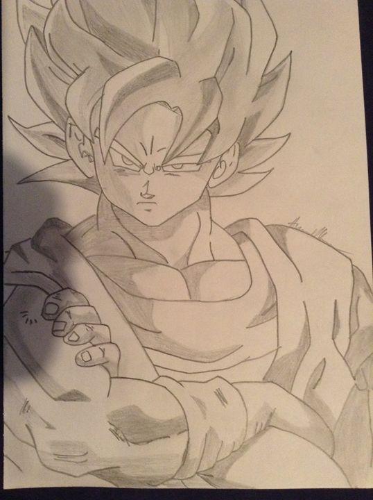 Goku SS1 - AJMTZXCreations