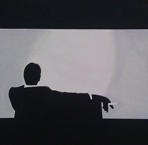 Man Men in Silhouette
