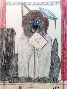 Graduation  Wolfy