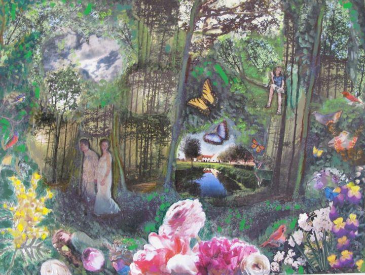 Forest - Susan Weiss Art