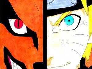 NARUTO AND KURAMA - Naruto shippuden