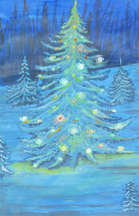Ooo Christmas tree oo Christmas tree - Just_arthetics