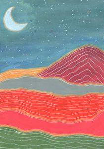 A night in desert