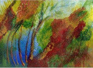Firelit Forest