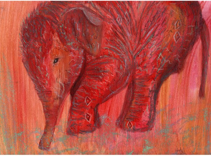 Fire Elephant - Wendy Smalley