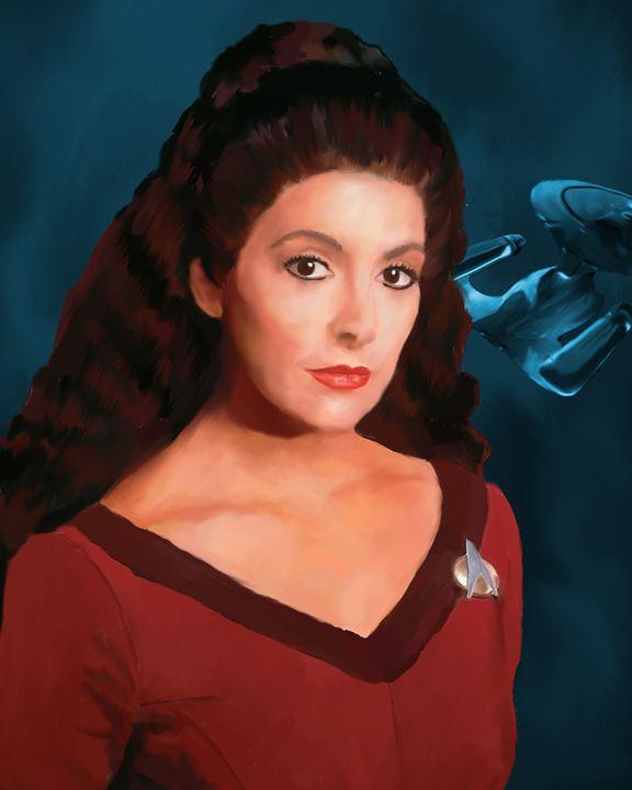 Star Trek: Counselor Deanna Troi - Joyful Creations
