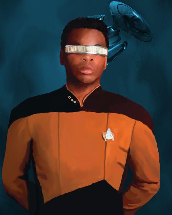 Star Trek: Geordi La Forge - Joyful Creations