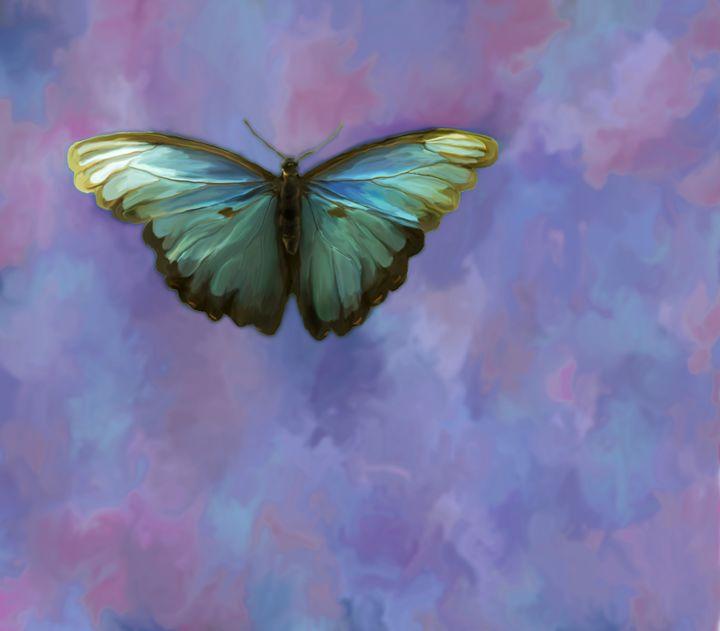 Blue Butterfly - Joyful Creations