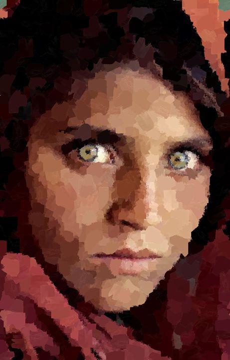 Gula Portrait - Portraits by Samuel Majcen