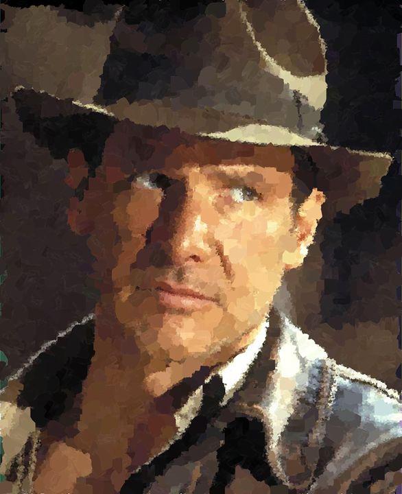 Indiana Jones - Portraits by Samuel Majcen