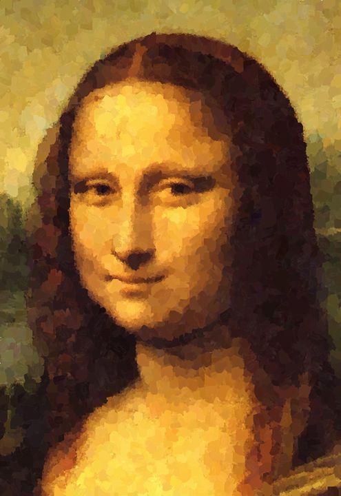 Mona Lisa Portrait - Portraits by Samuel Majcen