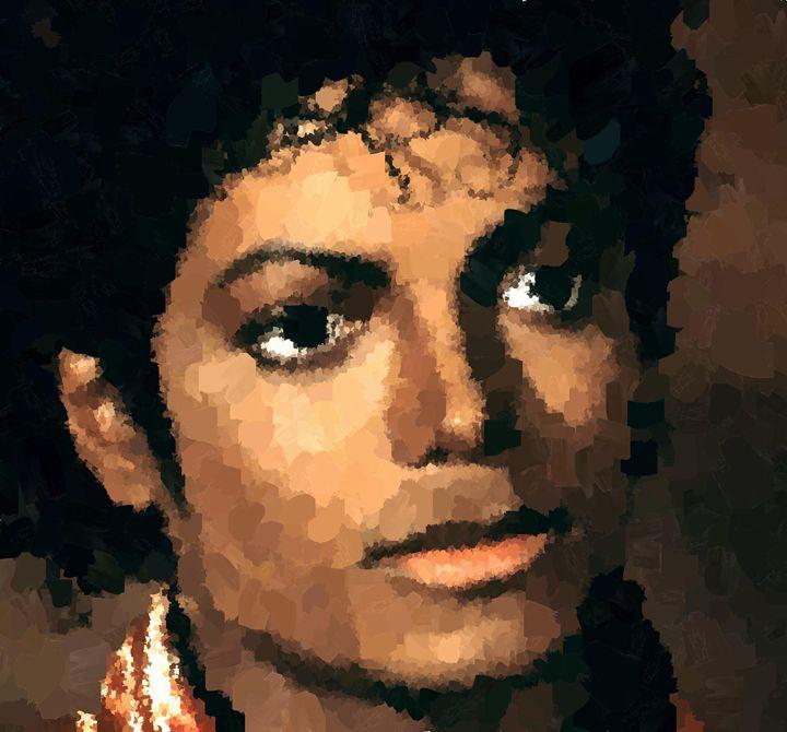 Michael Jackson Portrait - Portraits by Samuel Majcen