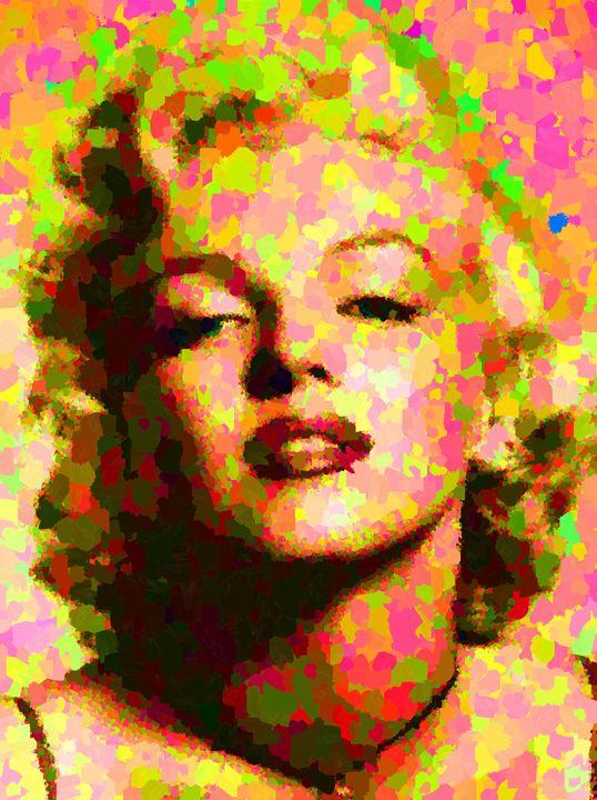 Marilyn Monroe - Portraits by Samuel Majcen