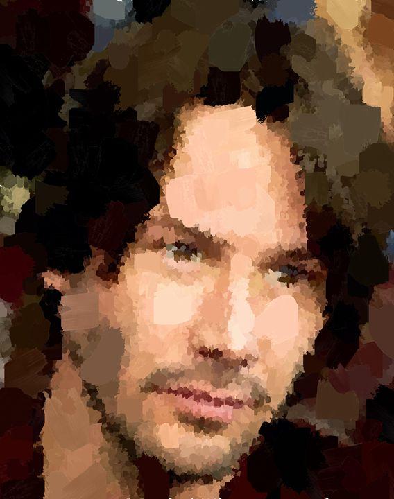 Keanu Reeves Portrait 01 - Portraits by Samuel Majcen