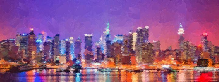 New York City - Skyline - Portraits by Samuel Majcen