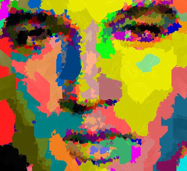Elvis Aaron Presley - Portraits by Samuel Majcen