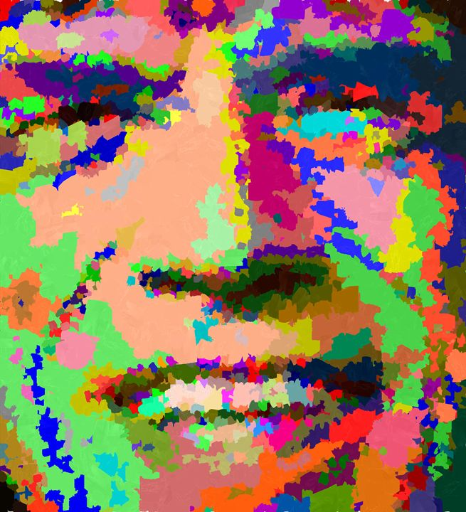 Mick Jagger - Portraits by Samuel Majcen
