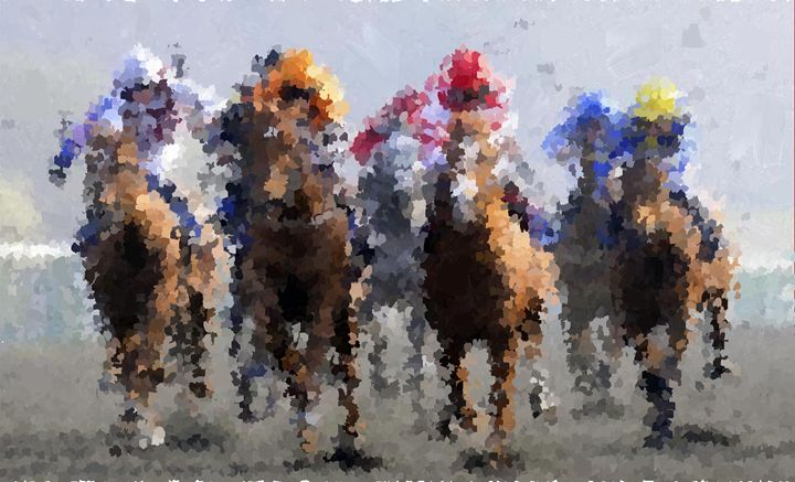 Horse Racing - Portraits by Samuel Majcen