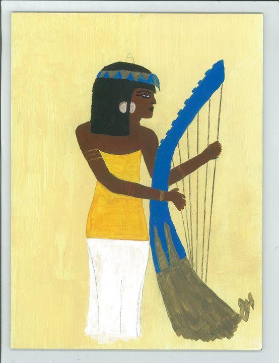 Egyptian Lady Musician - JesikasGallery