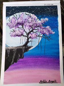 Fantasy dreamland painting