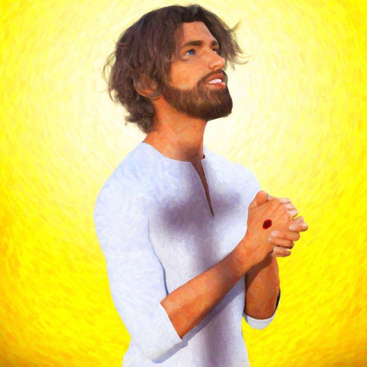 Jesus Praying - Becket
