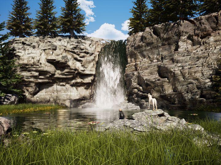Waterfall - NeworImage
