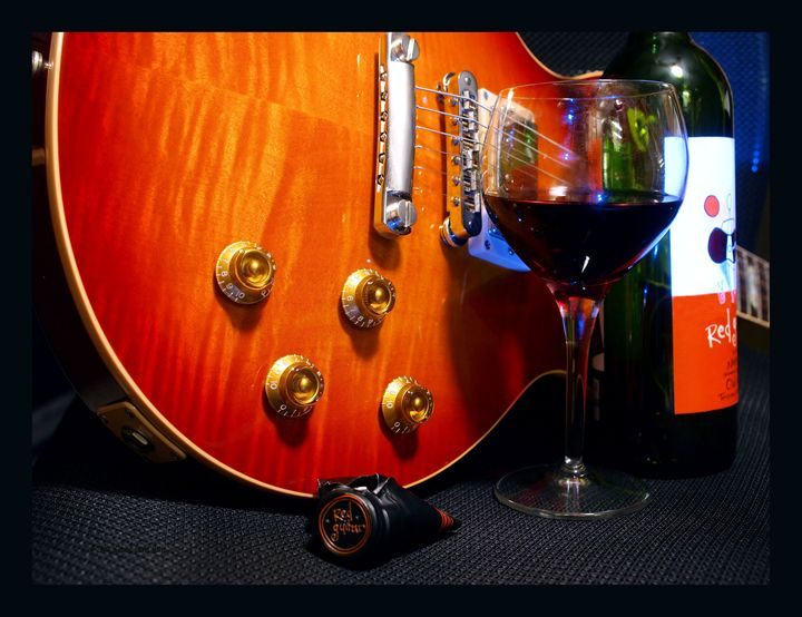 Red Guitar - mistermike photography