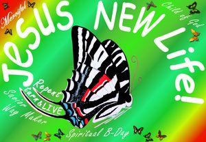 Jesus Spiritual New Life