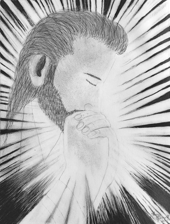 Praying illuminating the darkness - Jesus Marketing & Country
