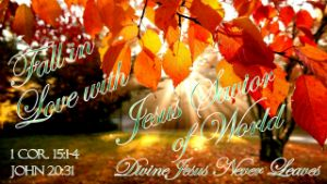 Fall In Love with Jesus 1