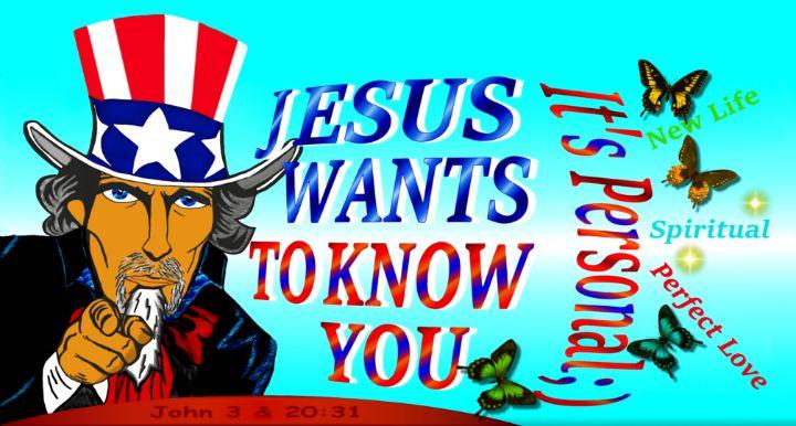 Jesus Wants To Know You - Jesus Marketing & Country