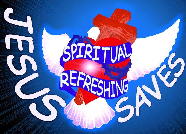 Jesus Saves Spiritually - Jesus Marketing & Country