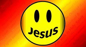 Yellow Jesus Smiley - Jesus Marketing & Country