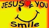 Smiley Jesus Loves You License