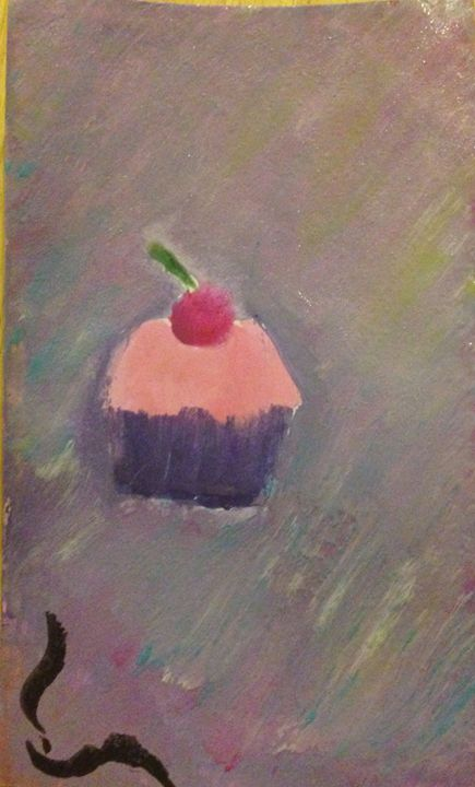 The Delicate (but anxious) Cupcake - Strawberryscone
