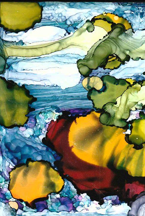 Sun and clouds - Edward Peck