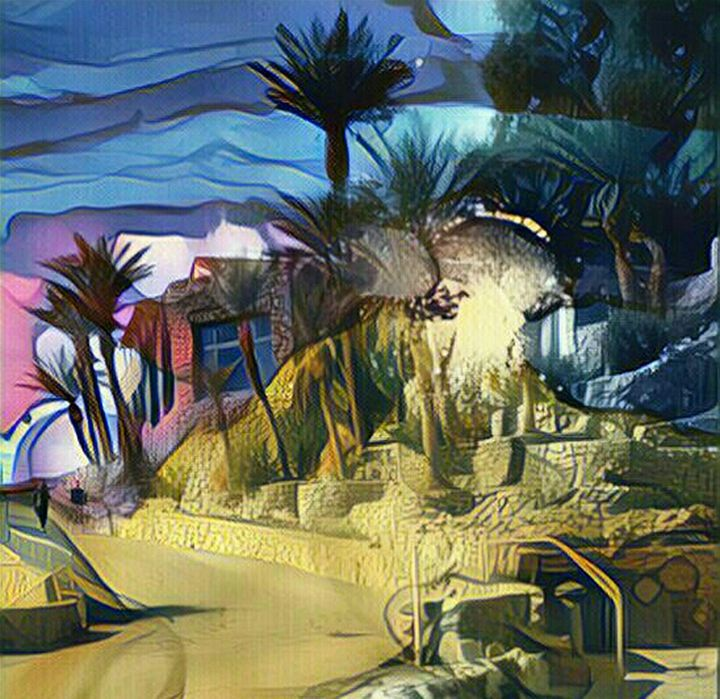 Desert Oasis - Edward Peck