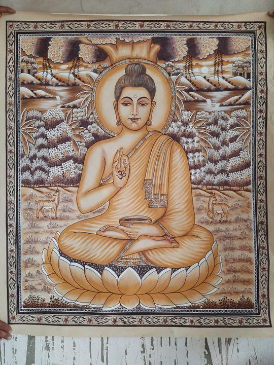 indian traditional buddha art - shreekrishnam
