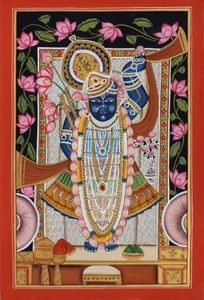 Pichwai hand made painting Shrinathj