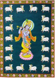 Pichwai Painting of Lord krishna