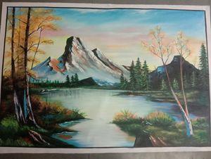 landscape  Art Living Room Canvas