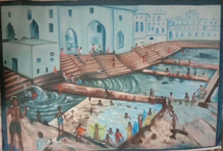 Pushkar Teetrtha Ghat, - shreekrishnam