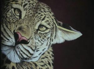 Leopard Handmade Painting Fine Art