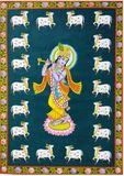 Krishna radha handmade painting
