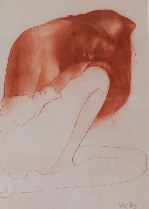 Where Nobody Knows No.2 - Patrick Palmer Figurative Art