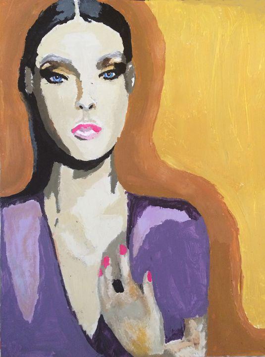 Lavender & Gold - Desde Mi Corazon (Paintings)