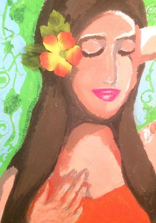 Island Girl - Desde Mi Corazon (Paintings)
