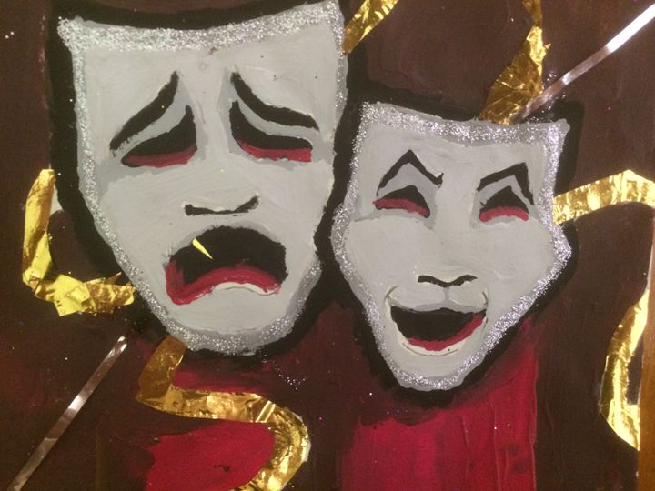 Laugh now, Cry Later - Desde Mi Corazon (Paintings)